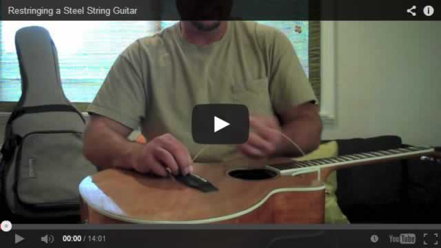 Frank Conrad - How to restring a steel string guitar